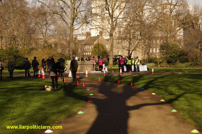 Photo 2, 2014 UK Parliamentary Charity Pancake Race