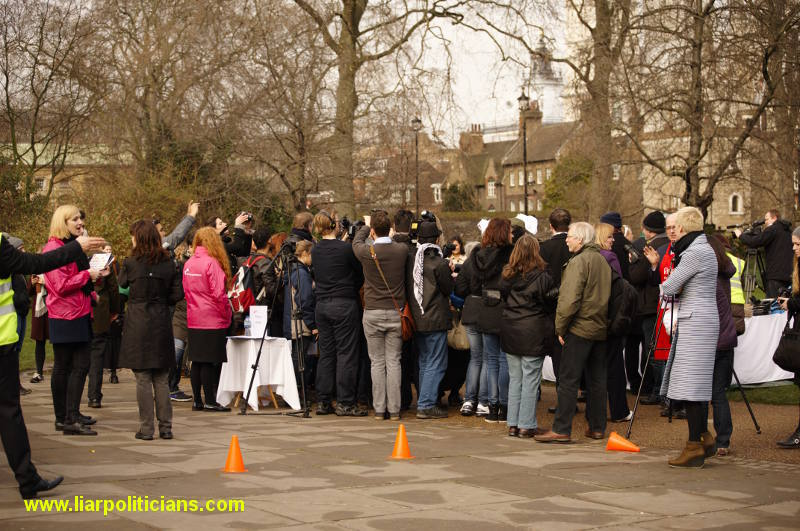 Photo 5, 2014 UK Parliamentary Charity Pancake Race
