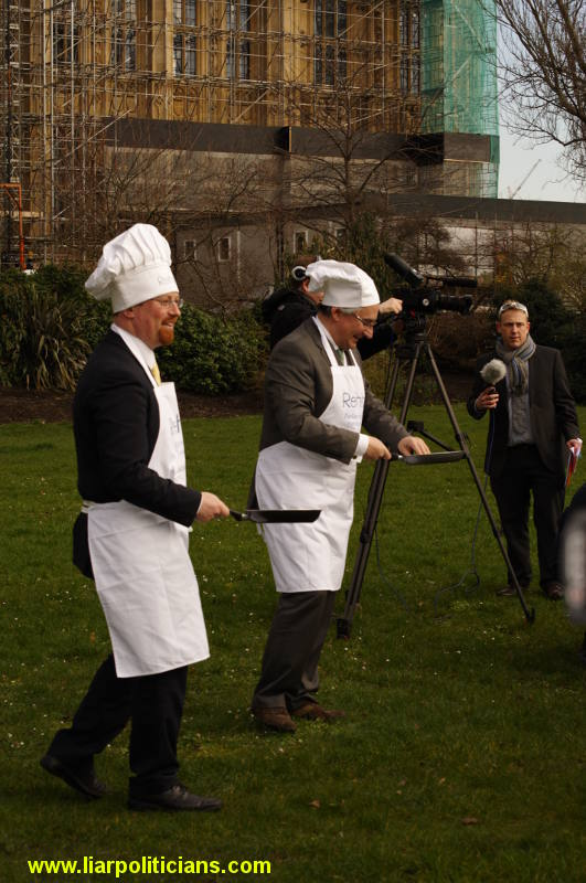 Photo 6, 2014 UK Parliamentary Charity Pancake Race