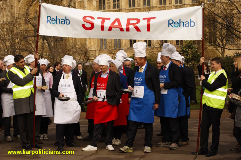 Photo 12, 2014 UK Parliamentary Charity Pancake Race