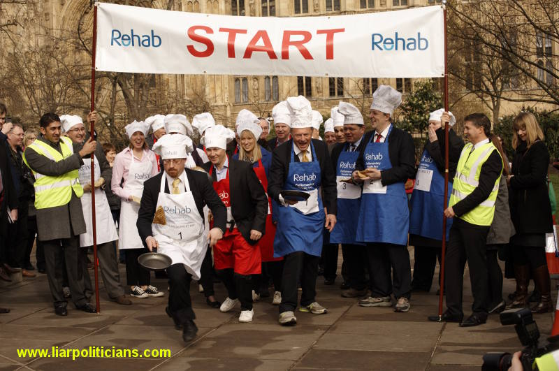 Photo 16, 2014 UK Parliamentary Charity Pancake Race