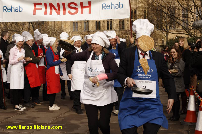 Photo 17, 2014 UK Parliamentary Charity Pancake Race