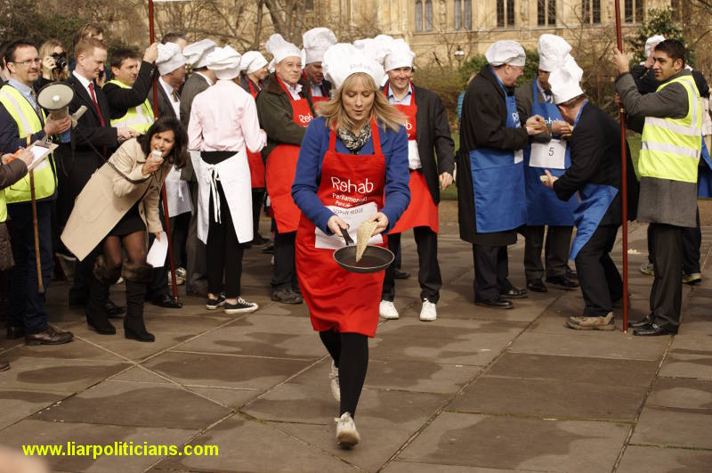 Photo 18, 2014 UK Parliamentary Charity Pancake Race