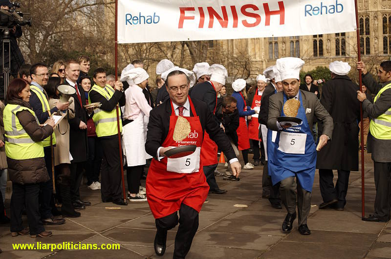 Photo 24, 2014 UK Parliamentary Charity Pancake Race