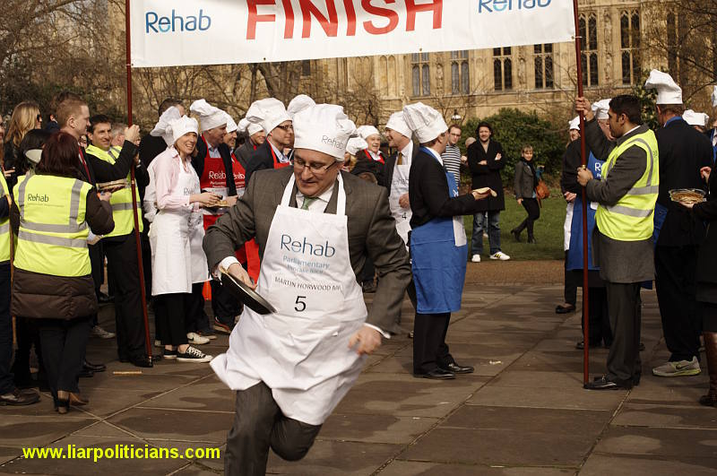 Photo 25, 2014 UK Parliamentary Charity Pancake Race