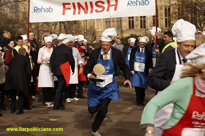 Photo 28, 2014 UK Parliamentary Charity Pancake Race