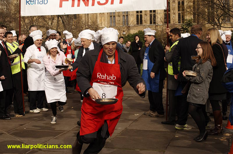 Photo 29, 2014 UK Parliamentary Charity Pancake Race