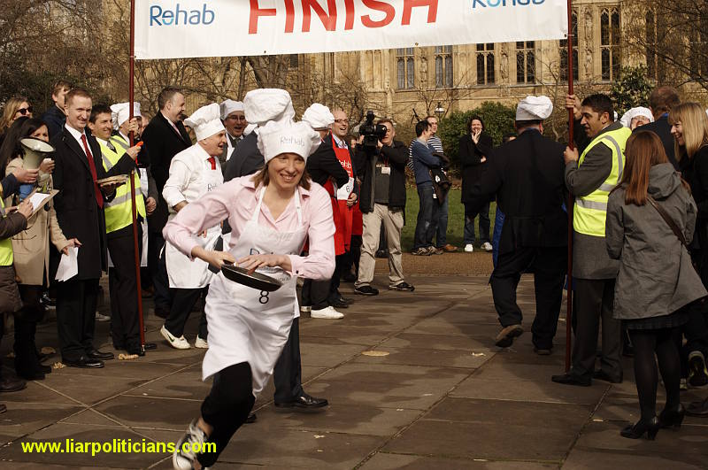 Photo 30, 2014 UK Parliamentary Charity Pancake Race
