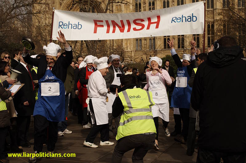 Photo 31, 2014 UK Parliamentary Charity Pancake Race